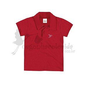 Camisa Polo Infantil Menina Lisa Elian