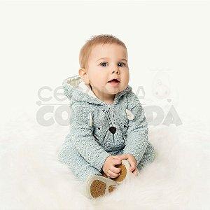 Macacão Longo Bebê Menino em Pêlo Sintético Kiko Baby