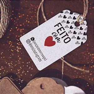 Tag Reciclato Feito com amor