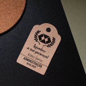 Tag Kraft Formatura Administração