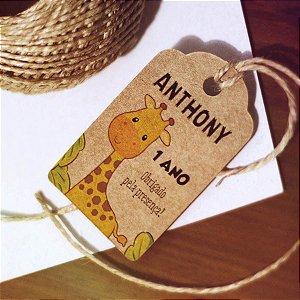 Tag Kraft Safari Girafa