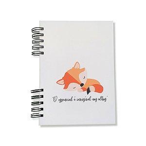 Caderno Pautado Espiral - Pequeno Príncipe