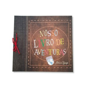 Álbum - livro de aventuras Personalizado