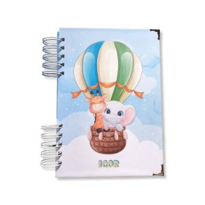 Diário do bebê - Balão