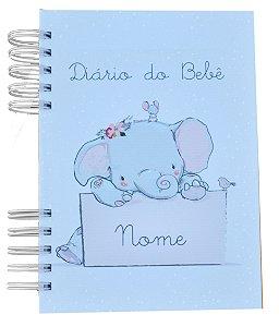Diário do bebê - Elefante