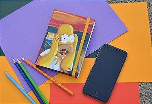Sketchbook Homer o Grito