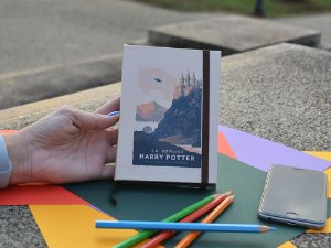 Sketchbook Harry Potter livro