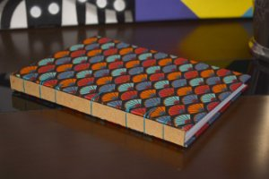 Caderno sem pauta - Belga Leque