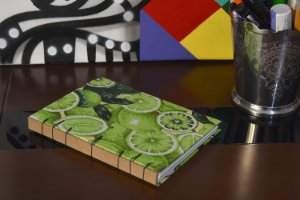 Caderno sem pauta - Limão