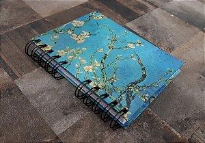 Caderno Pautado Espiral  A6- VAN GOGH