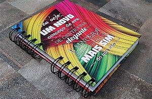 Caderno Pautado Espiral  A6 - COMEÇO