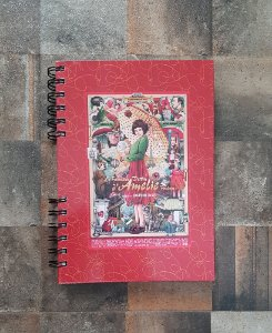 Caderno Pautado Espiral  A5 - AMELIE