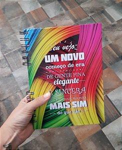Caderno Pautado Espiral  A5 - COMECO