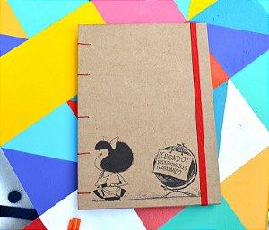 Sketchbook Kraft Eco Pólen - Mafalda