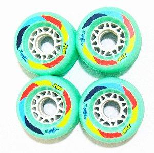 Roda Face Skate Chalk Verde 70mm 83A