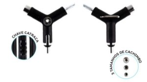 Chave Y Chaze - Ninja Key - sistema de catraca