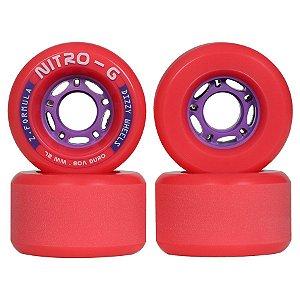 Roda Dizzy Nitro - G - 72mm - 80A - Freeride