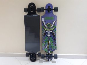 "Longboard Hondar completo - Sarcófago - 38"" - Drop Through"