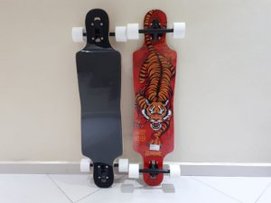 "Longboard Hondar completo - Tigre - 38"" - Drop Through"