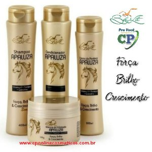 Kit Completo Apaluza - Hidratação Capilar - Belkit