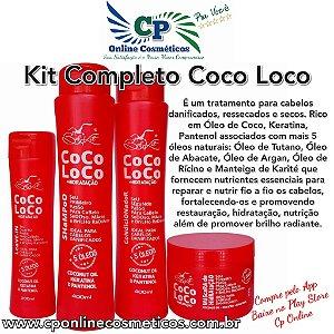 Kit Completo Coco Loco - Tratamento Capilar - Belkit