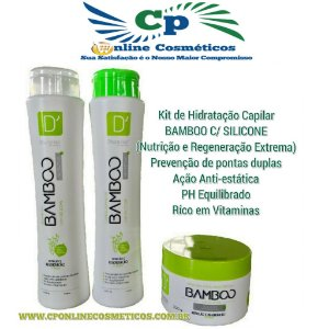 Kit Bamboo Nutritivo - D'oura Hair