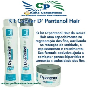 Kit D'Pantenol Hair - D'oura Hair