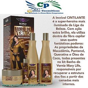 Kit Banho de Verniz - Hidratação Capilar - Mary Life