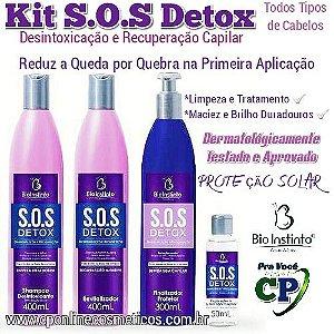 Kit S.O.S. Detox - kit de Tratamento Capilar - Bio Instinto