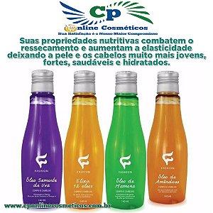 Óleo Corpo e Cabelo Hidratante Fashion 140 ml
