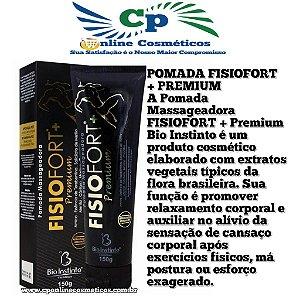 Pomada Massageadora Fisiofort+ Premium 150 g - Bio Instinto