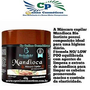 Máscara No Low Poo Mandioca 400g - Bio Instinto