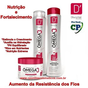 Kit Capilar Ômega 3 - D'oura Hair