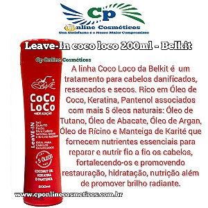 Finalizador Leave-In coco loco 200 ml - Creme de Pentear - Belkit