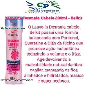 Finalizador Leave-In Desmaia Cabelo 200 ml - Creme de Pentear - Belkit