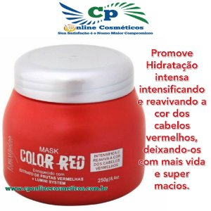 Máscara Tonalizante Color Red  250g - Forever Liss