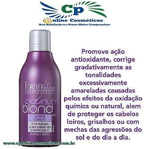 Shampoo Matizador Platinum Blond 300 ml - Forever Liss