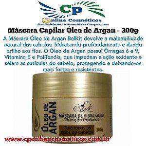 Máscara de Hidratação Capilar Óleo de Argan 300 g - Belkit