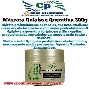Máscara de Hidratação Capilar Quiabo e Queratina 300 g - Belkit