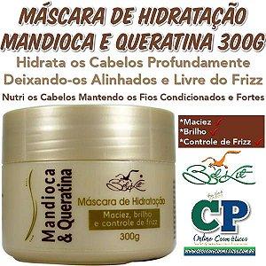 Máscara Capilar Mandioca e Queratina 300g - Belkit