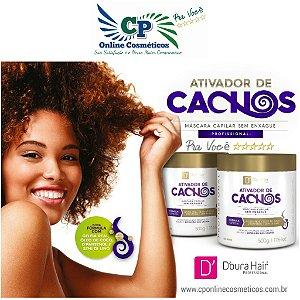 Máscara Ativador de Cachos 500g - D'oura Hair