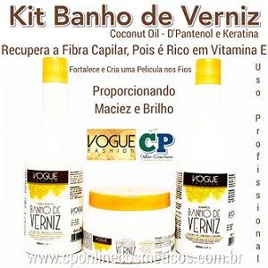Kit de Manutenção Banho de Verniz - Vogue