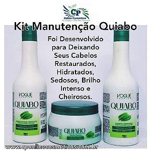 Kit de Manutenção Quiabo - Vogue