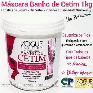 Máscara Banho de Cetim 1kg - Vogue