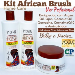 Kit African Brush - Vogue Fashion