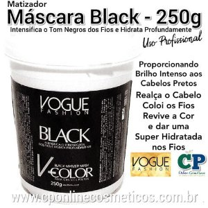Máscara Matizadora Black 250g - Vogue