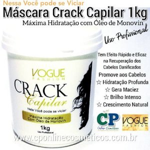 Máscara Crack Capilar 1kg - Vogue Fashion