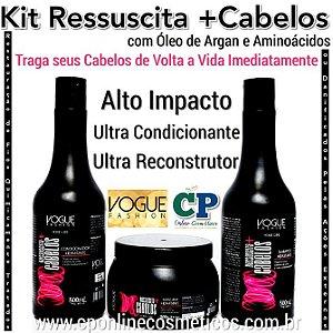 Kit de Manutenção Ressuscita +Cabelos - Vogue