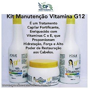 Kit de Manutenção Vitamina g12 - Vogue