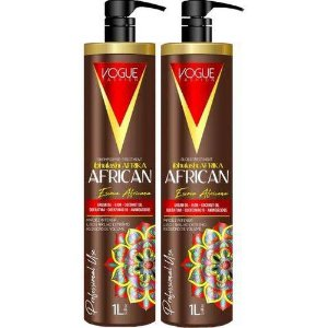 Kit Escova Progressiva African 1L - Vogue